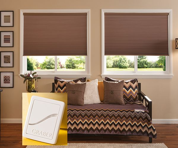 Virtual Cord Z-Wave Graber Double Cellular Shades